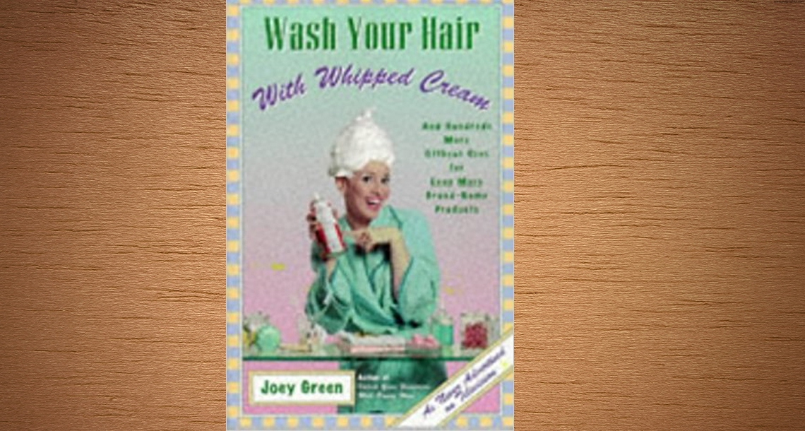 WASH YOUR HAIR WITH WHIPPED CREAM