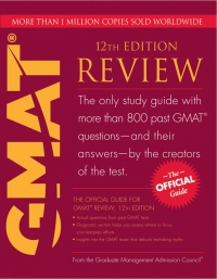 The official guide for GMAT review 12 Edition