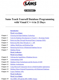 Teach Yourself Database Programming with Visual...