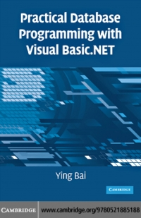 Practical database programming with Visual...