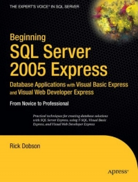 Beginning SQL server 2005express database...