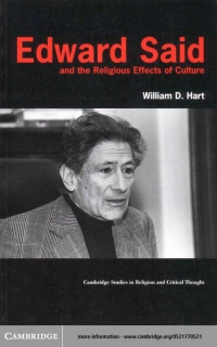 EDWARD SAID AND THE RELIGIOUS EFFECTS OF...