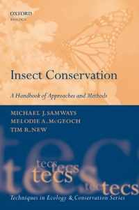 Insect conservation a handbook of approaches...