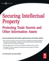 Securing intellectual property  protecting trade...