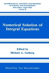 Numerical Solution of Integral Equations