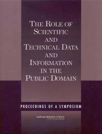 The role of scientific and technical data and...