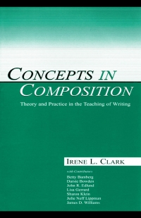 Concepts in composition  theory and practice in the...