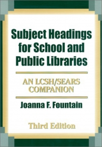 Subject headings for school and public libraries an LCSH