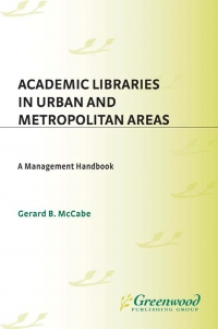 Academic libraries in urban and metropolitan ...