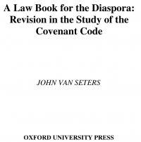 A law book for the diaspora revision in the ...