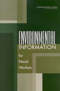 Environmental information for naval warfare
