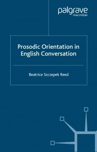 Prosodic orientation in English conversation