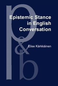 Epistemic stance in English conversation