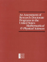An Assessment of research-doctorate programs ...