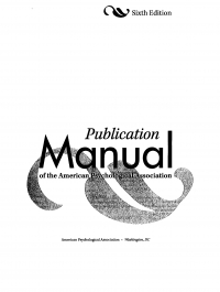 Publication manual